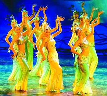 民族舞群舞视频大全